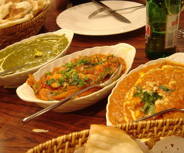VARIETY OF INDIAN SABZI (CURRIES)